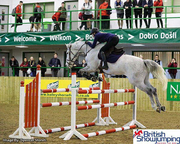 British Showjumping Step Up To Gold training at Hartpury Collage